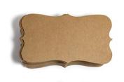 Kraft Paper Business Cards (100) Paper K04- Blank