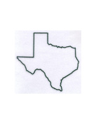 Pack of 3 Texas State Stencils Made from 4 Ply Mat Board 11x14, 8x10, 5x7