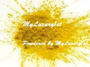 Lot of 2 Sparkly Yellows 25g and 25ml Pure Yellow Mineral Mica Powder DIY Natural Cosmetic Lip Nail Shimmer Soap Colour Dye 25 grammes x2