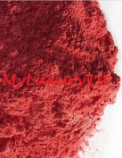 Lot of 2 Sparkly Reds 25g and 25ml Pure Red Orange Mineral Mica Powder DIY Natural Cosmetic Lip Nail Shimmer Soap Colour Dye 25 grammes x2
