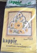 Floral in Yellow - Vintage Kappie Originals Creative Stitchery Kit #K716