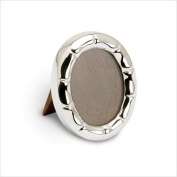 Krysaliis Sterling Silver Oval Etch Picture Frame