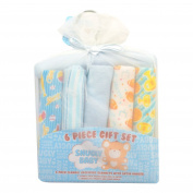Snugly Baby First Receiving Blankets 6 Pieces Gift Set