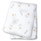 lulujo Baby Cotton Muslin Swaddling Blanket, Blessings
