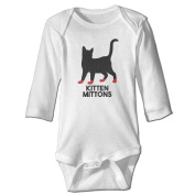 Infant Kitten Mittons Always Sunny In Philadelphia Cute Baby Onesie Bodysuit