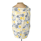Yellow Tulip Nursing Cover - 100% Cotton Contoured Floral Design
