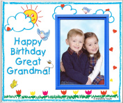 Happy Birthday to Great Grandma