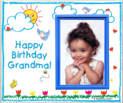 Happy Birthday to Grandma