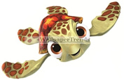 13cm Squirt Turtle Finding Nemo 2 Movie Removable Peel Self Stick Wall Decal Sticker Art Bathroom Kids Room Walt Disney Pixar Home Decor Boys Girls 13cm wide by 5.7cm tall