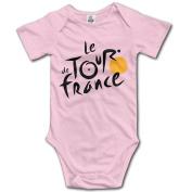 2016 Le Tour Of France Logo Baby Bodysuits