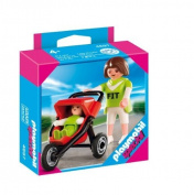 Playmobil Mom With Jogging Stroller