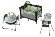 Pack 'N Play On the Go Playard with Baby Swing and Highchair