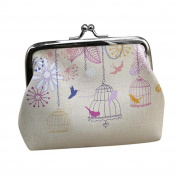 Purse, Mikey Store Womens Wallet Card Holder Coin Clutch Handbag