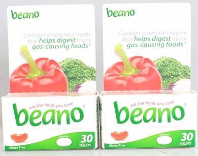 Beano Gas Relief, 30 ea - 2pc