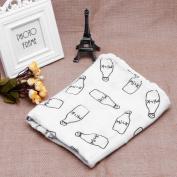 MEXUD-Baby Swaddling Blanket Soft Muslin Newborn Infant 100% Cotton Swaddle Towel
