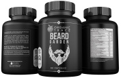 Beard Garden- The Ultimate Beard, Hair and Moustache Supplement. All-Natural Premium Ingredients Proven To Work! Quickly and Naturally Grow A Thicker and Fuller Beard, Moustache & Hair With