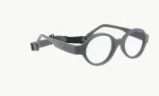 Miraflex Baby Lux2 Kids Eye Glass Frames | 40/14 Dark Grey | Age:5-7