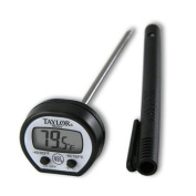 Pocket Thermometer Taylor Read Instant Precision Digital Classic Products New 9840 Waterproof 5989n Stainless Lcd Stem Meat Steel 1 S