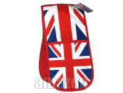 Double Oven Gloves with Union Jack Print, London Collectable Souvenir - 2312