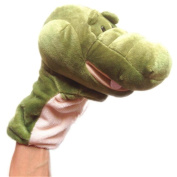 Finger Puppet Toy, FTXJ Cute Plush Crocodile Doll Full Body Hand Puppet