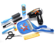 PowerTRC® Beauty Fashion Salon Playset with Hairdryer, Curling Iron, Tool Belt, and Styling Accessories