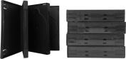 (5) 4 Disc Capacity 27mm Black DVD Replacement Cases - DV4R27BK