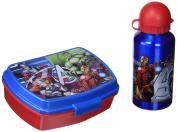 Kids Euroswan Disney Mv92307. Set Lunch, Sandwich Case + Water Bottle Avengers