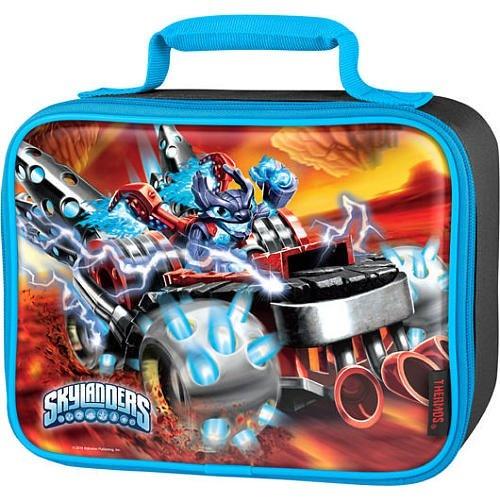 Skylanders Superchargers Blue Lenticular Lunch Kit