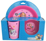 Paw Patrol Skye 3pc Breakfast Set
