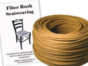 Fibre Rush KIT 6/32 Kraft Brown with instruction booklet