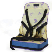 Vine Foldable Harness Infant Dining Chair Cushion Portable Baby Booster Seats Toddler Seat Units Adjustable Storage Seat Bag for Travel