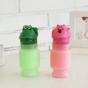 Portable children's cartoon car urinal car emergency urine bottle urinal (2 Pack) , multicolor , 2