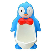 Penguin baby urinal boy standing-baby of the urinal urinal , blue