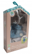Meiya & Alvin Soft Rattle Teether Comforter - Alvin Elephant