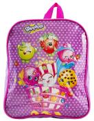 Girls Shopkins Backpack Shoppies School Bag Travel Lunch Rucksack Shoulder Bag