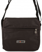 Mens / Ladies Small Flap Over Travel / Multi Purpose Shoulder / Cross Body Bag in Brown
