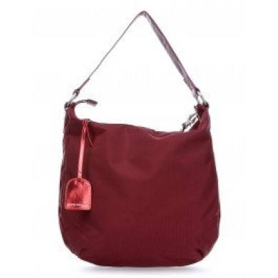 George Gina & Lucy The Lucy Romance Nylon Orlandaker Hobo red