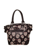 Banned Apparel Sugar Skull Candy Muerto Shoulder Bag Handbag