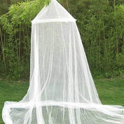 Ledyoung Mosquito Nets Bed Canopy Netting Outdoor Holiday Travelling Home Using, White