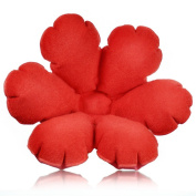 Red Daisy Flower Inflatable Bath Pillow