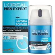L'Oreal Paris Men Expert Hydra Power Refreshing Moisturiser 50ml