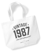 30th Birthday, 1988 Keepsake, Funny Gift, Gifts For Women, Novelty Gift, Ladies Gifts, Female Birthday Gift, Looking Good Gift, Ladies, Shopping Bag, Present, Tote Bag, Gift Idea