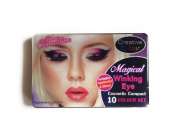 Magical Winking 10 Colour Eye Eyeshadow Set by Lizzy®