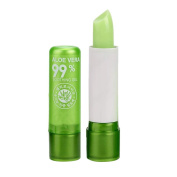 Fashion Long Lasting Moisturising Lipstick Aloe Vera Lip Gloss Colour Mood Change