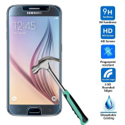 Better Style for Samsung Galaxy S6 Screen Protector, for Samsung Galaxy S6 Hard Strong Screen Temper Glass 2.5 HD