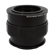 KECAY Lens Mount Adapter for M42 42mm Screw Mount Lens to Sony Alpha and NEX E-Mount Mirrorless Digital Cameras with Macro Focusing Helicoid