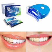 Genkent Teeth Whitening Kit Advanced Teeth Whitening Strips and Tooth LED Whitening Accelerator
