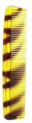 "Stratton - Premium Professional Quality Tort Shell Pocket Hairdressing Comb ""Regent"" Design"