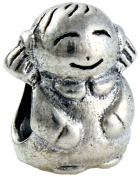 Girls 'Women's Charm Bead suitable for Pandora Jewellery or similar 100% 925 Sterling Silver