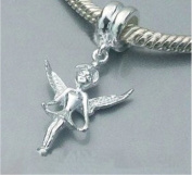 Fairy Guardian Angel Fits Pandora Jewellery or similar - 100% 925 Sterling Silver